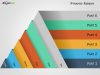 Ribbon Pyramid Diagrams for PowerPoint-Slide1