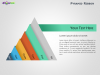 Ribbon Pyramid Diagrams for PowerPoint-Slide9