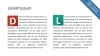 Flat Design Letters for PowerPoint with Example Slides - Slide10