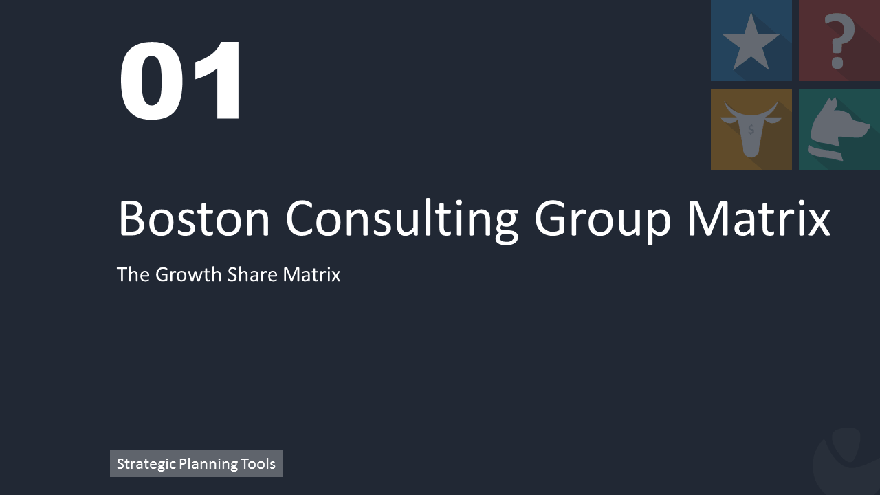 Boston consulting group matrix for Ford motor company powerpoint template