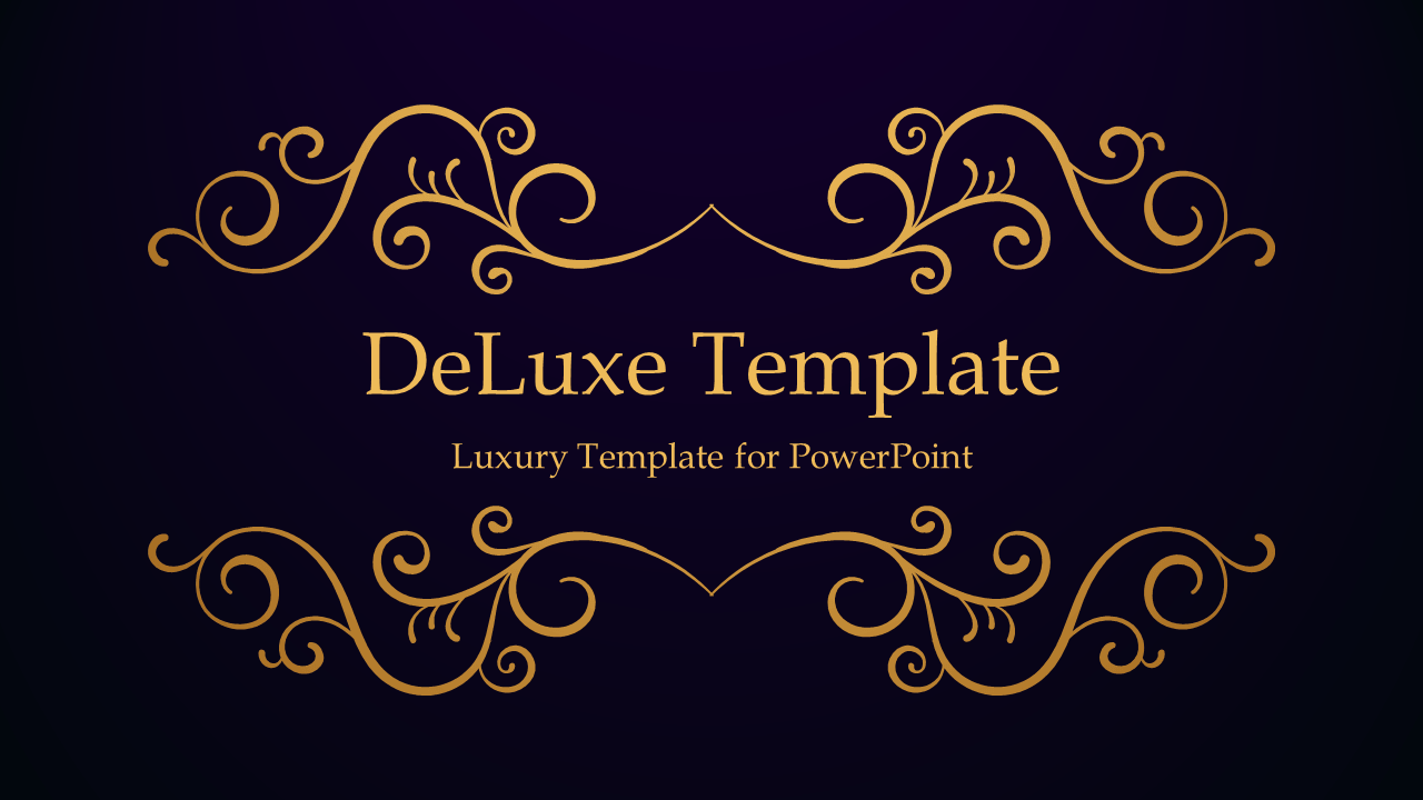 Deluxe luxury powerpoint template deluxe powerpoint template 1 purple widescreen toneelgroepblik Gallery