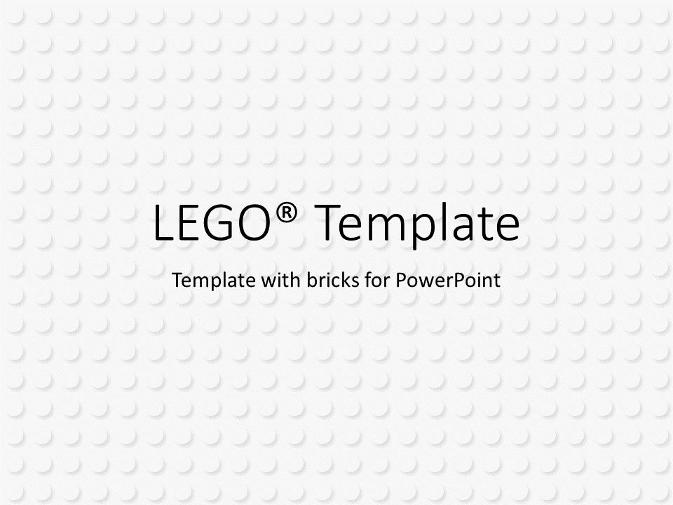 Lego powerpoint template lego powerpoint baseplate 1 maxwellsz