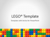 Lego PowerPoint Template - Cover 3