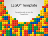Lego PowerPoint Template - Cover 4