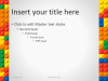 Lego PowerPoint Template - Content 1