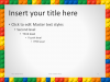 Lego PowerPoint Template - Content 2