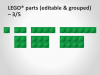 Lego PowerPoint Green Bricks