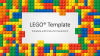Lego PowerPoint Template - Cover1 - Widescreen