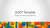 Lego PowerPoint Template - Cover 3 - Widescreen