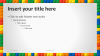 Lego PowerPoint Template - Content 2 - Widescreen