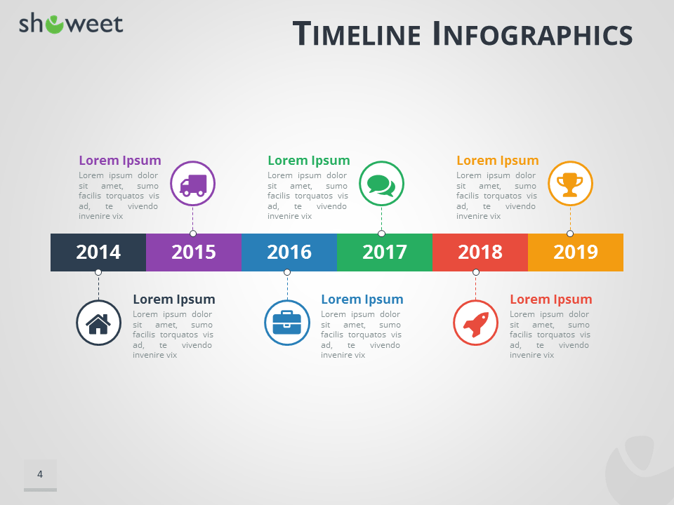 timeline infographics templates for powerpoint, Powerpoint