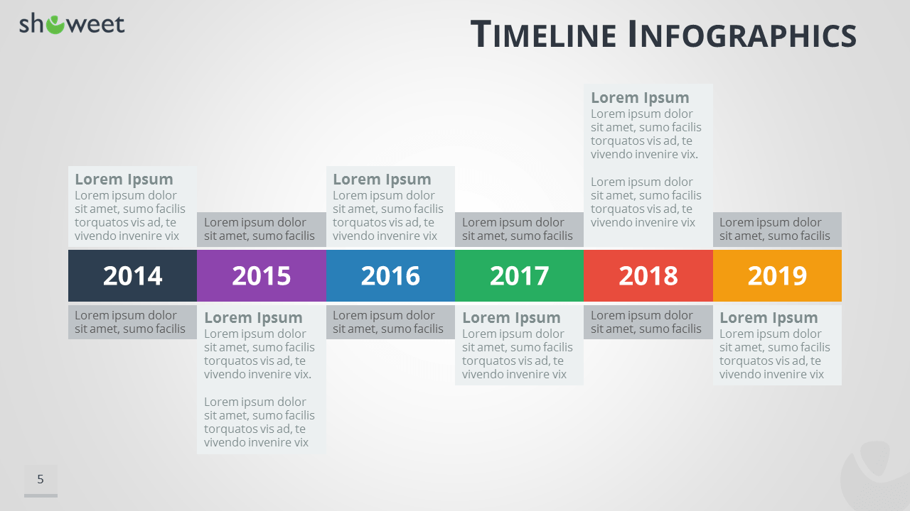 Timeline infographics templates for powerpoint for Ms powerpoint timeline template