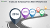 Timeline Infographics for PowerPoint with map location pins and road graphics - widescreen size