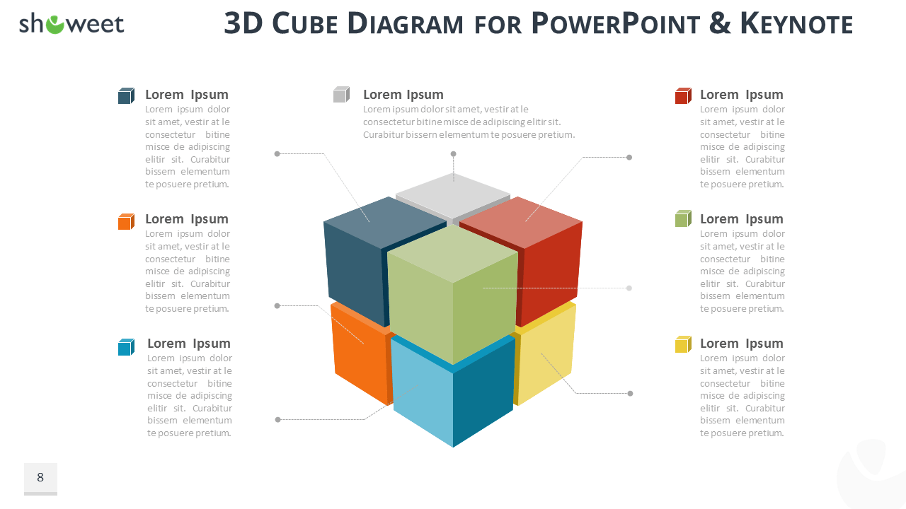 3d Cube Diagram Circuit Symbols Panasonic Cu Ps9nkz Wiring Diagrams Infographics For Powerpoint And Keynote Wire Data Rh Lemise Co Fold