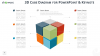 3D Cube Diagram Infographics for PowerPoint and Keynote - Widescreen