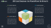 Rubik Cube Diagram Infographics for PowerPoint and Keynote - Dark Layout - Widescreen