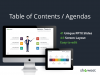 Table of Contents - Agenda - Template for PowerPoint and Keynote