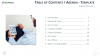 Table of Contents and Agenda - Free Templates for PowerPoint and Keynote - Right