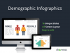 Demographic Infographics for PowerPoint and Keynote - Cover Slide (Standard)