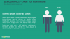 Demographic Infographics - Male and Female - PowerPoint