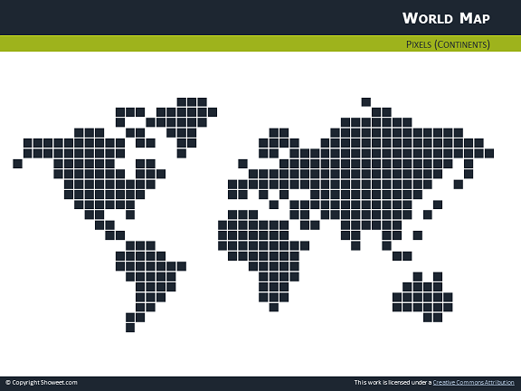 Free pixel world map for powerpoint pixel world map for powerpoint thumb04 gumiabroncs Choice Image