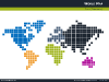 Pixel World Map for PowerPoint-thumb05