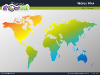 World Map for PowerPoint - thumb10