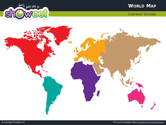 Free world map for powerpoint world map for powerpoint thumb01 gumiabroncs Image collections