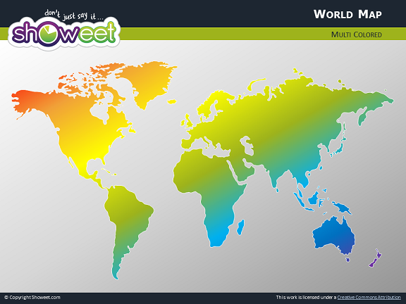 Free world map for powerpoint world map for powerpoint thumb10 gumiabroncs Gallery