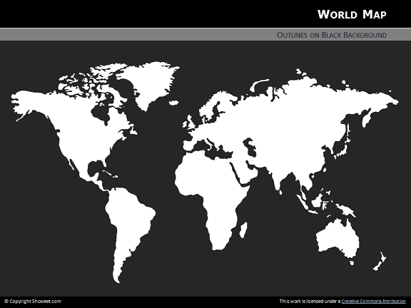 Free world map for powerpoint toneelgroepblik Choice Image