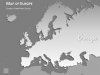 Europe Map PowerPoint Template - Slide 7