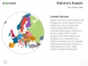 Europe Map PowerPoint Template - Slide 10