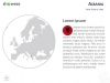 Europe Map PowerPoint Template - Slide 22