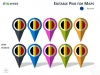 Europe Map PowerPoint Template - Slide 33