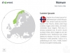Europe Map PowerPoint Template - Slide 90