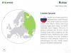 Europe Map PowerPoint Template - Slide 98