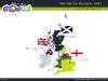 Powerpoint Map of United Kingdom slide 05