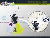 Powerpoint Map of United Kingdom slide 07