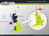 Powerpoint Map of United Kingdom slide 08