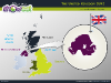 Powerpoint Map of United Kingdom slide 10