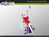 Powerpoint Map of United Kingdom slide 11