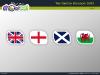 Powerpoint Map of United Kingdom slide 15