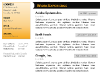Black & Yellow CV Template for PowerPoint - slide1