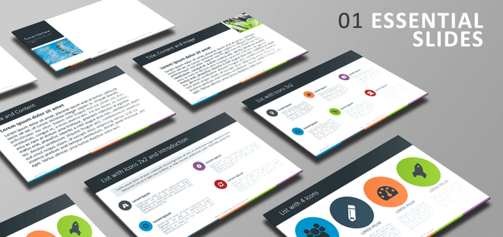 Free PowerPoint Template - Essential Slides