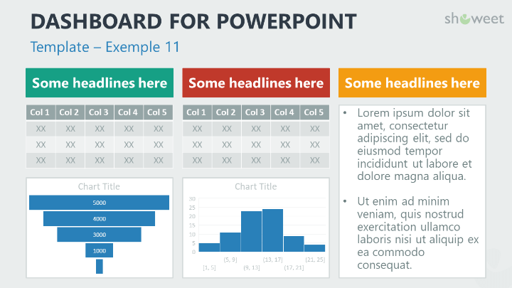 powerpoint dashboard template - Parfu kaptanband co