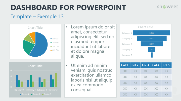Dashboard Templates For Powerpoint