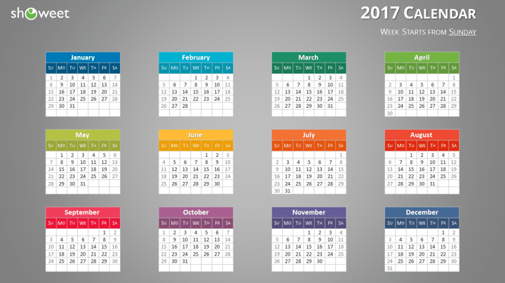 Calendar Template Ios