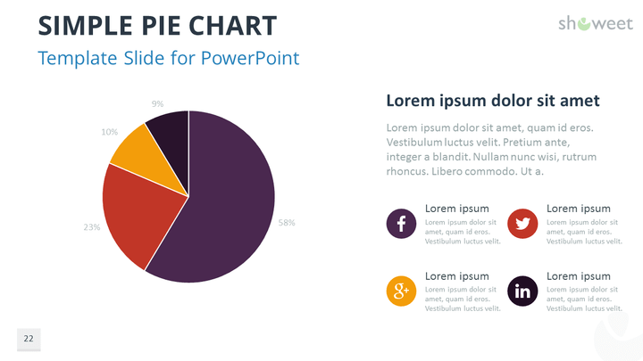 data charts templates for powerpoint