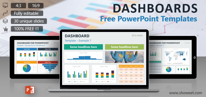 Dashboard templates for powerpoint toneelgroepblik Choice Image