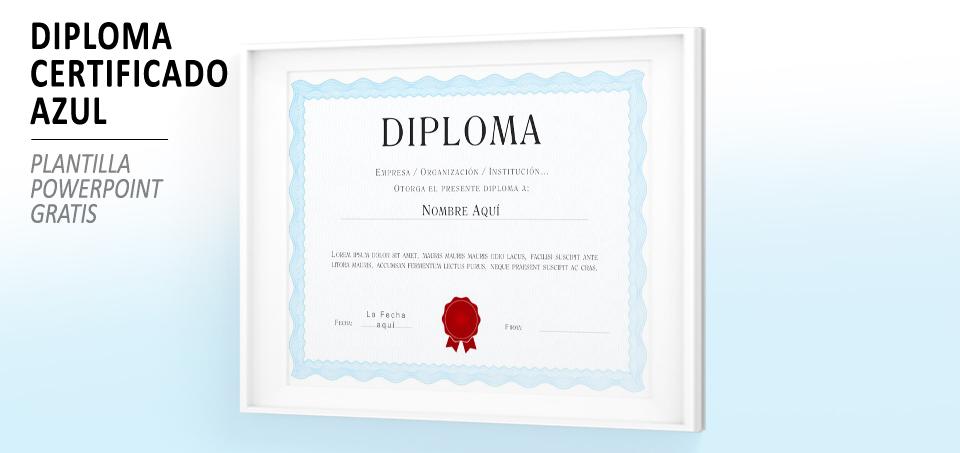 Plantilla Powerpoint De Diploma